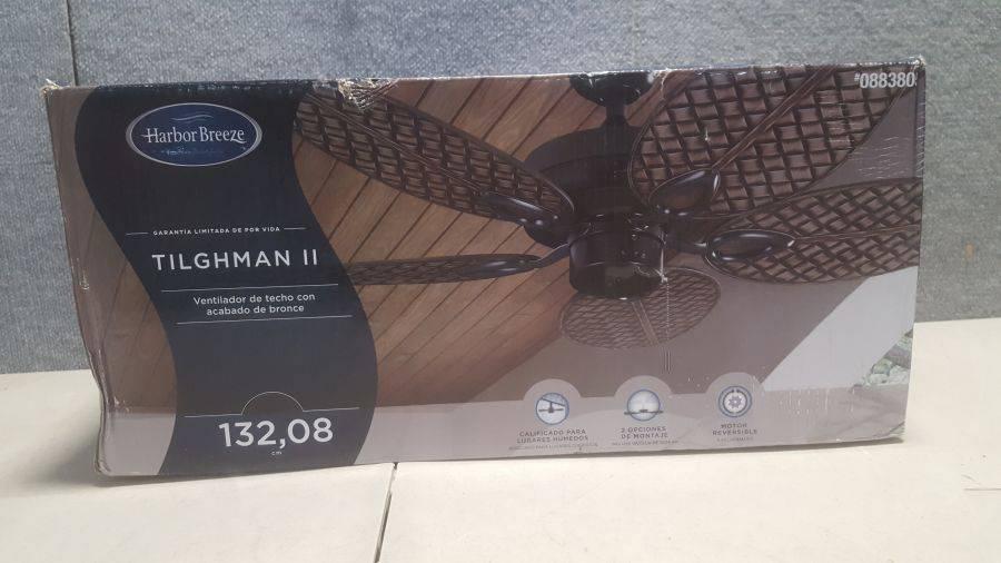 Harbor Breeze Tilghman Ii 52 In Bronze Indoor Outdoor Ceiling Fan 5 Blade Auction Auction Tucson