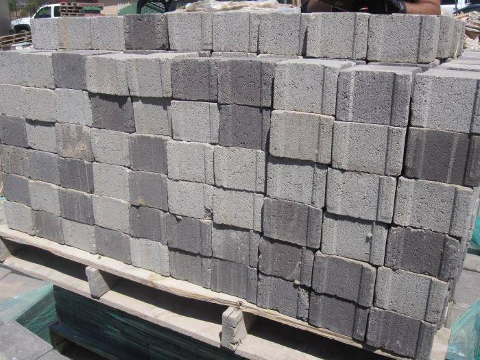 Pallet Of About 460 Pavers 4''x4''x3''