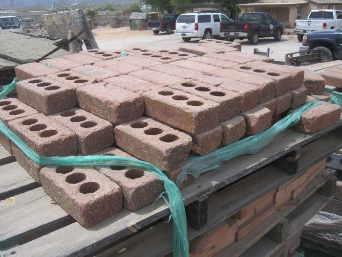Pallet With About 35 Pavers