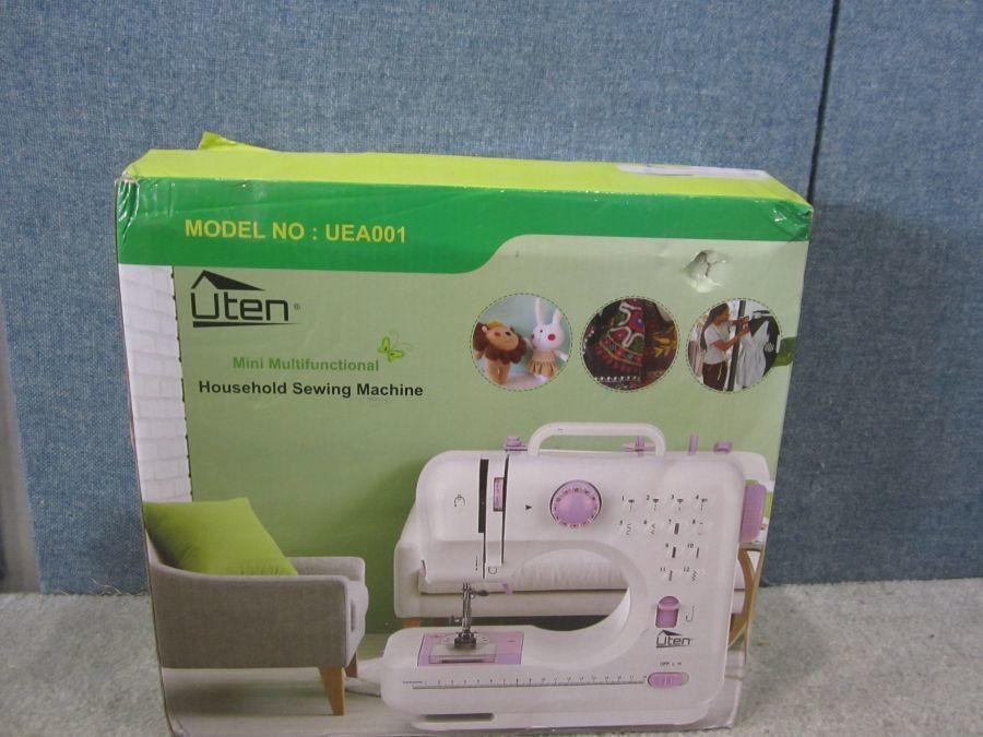Uten Model UEA40 Mini Multi Functional Household Sewing Machine Enchanting Sewing Machine Repair Tucson