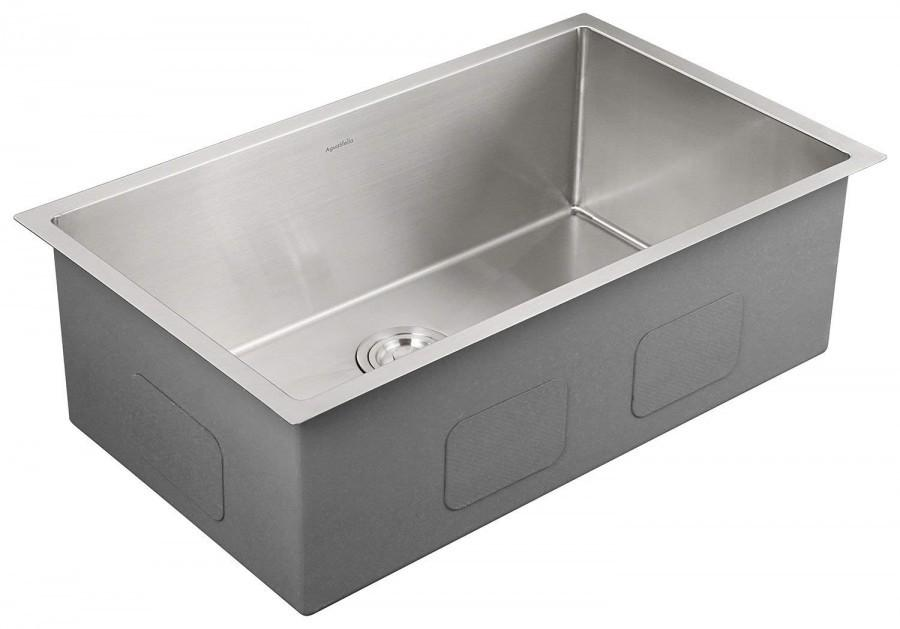Aguastella AS3018 Luxurious Stainless Steel Undermount Kitchen Sink, Single  Bowl 30\