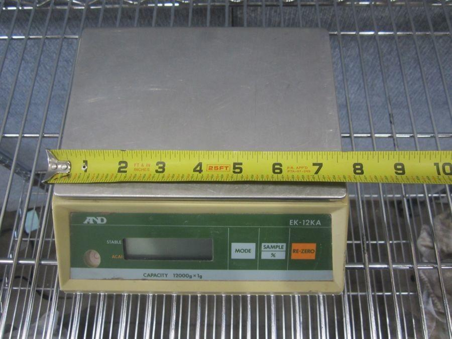And EK 12KA Weight Scale Capacity 12000gx1g