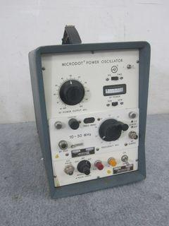 Ailtech Model 184-2 And 445-5 Microdot Power Oscillator