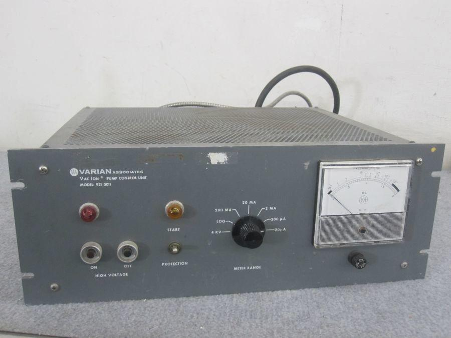 Varian Associates Vac Ion Pump Control Unit Model 921-0011
