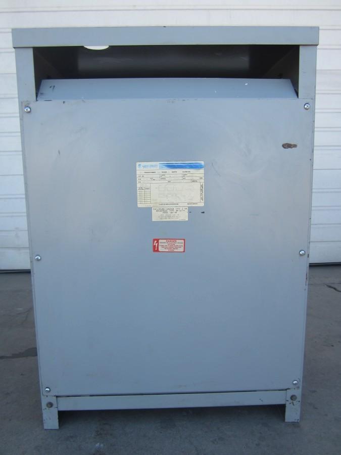 75 KVA Transformer Challenger Electrical Equipment Corp DT-3 Model 5