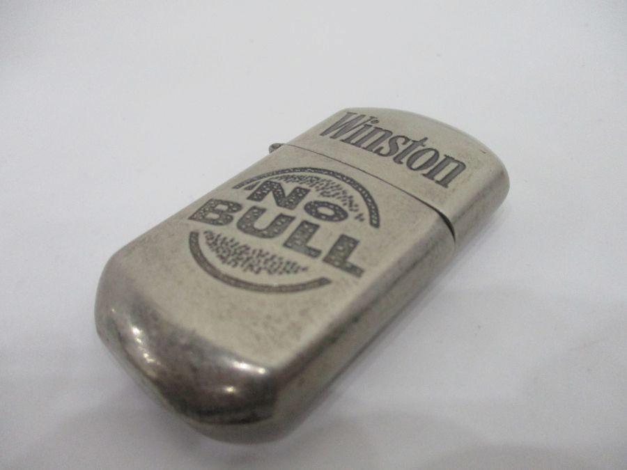Winston No Bull Lighter (Needs Fluid)