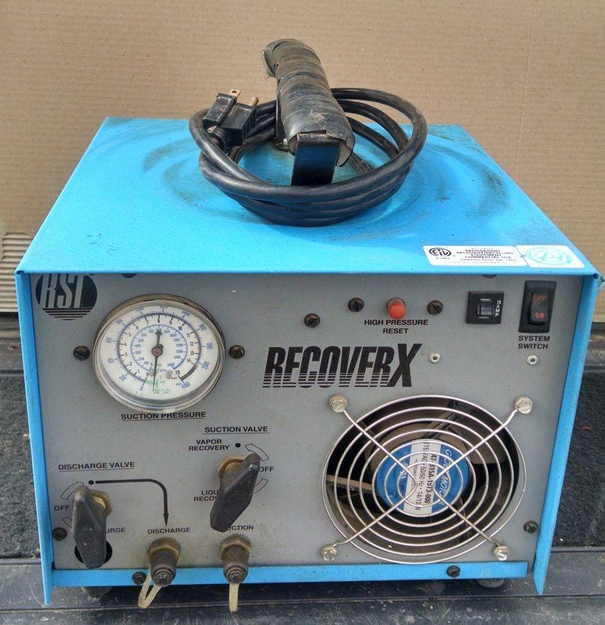 Recoverx Refrigerant Recovery Unit