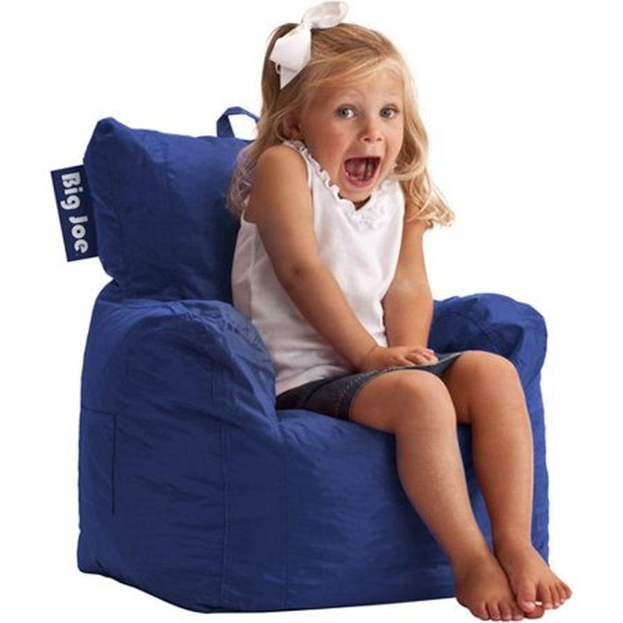 Admirable Big Joe Cuddle Bean Bag Chair Blue Short Links Chair Design For Home Short Linksinfo