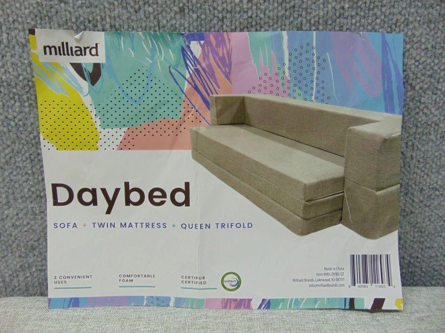 Admirable Milliard Daybed Sofa Queen To Twin Folding Mattress Couch Pdpeps Interior Chair Design Pdpepsorg